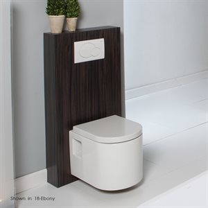 Tre  Toilet Natural Walnut