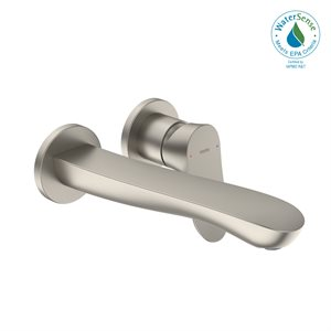 FAUCET,SINGLE LAV,GO(WM),L 1.2GPM BRUSHED NICKEL